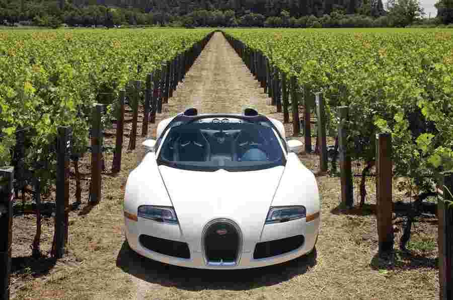 日内瓦电机展2012:Bugatti Veyron Grand Sport