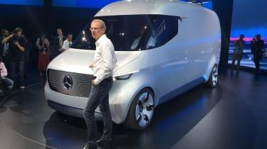 新的梅赛德斯Vision Van Concept预览了商用车的未来
