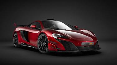 新的McLaren MSO HS:679BHP Supercar宣布的第一个细节