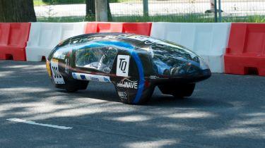 """世界上最省油的汽车最省油的汽车击中了""""31,000MPG""""的新纪录"""