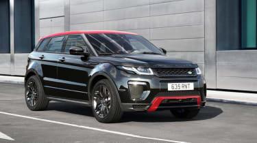 Range Rover Evoque获得2017年更新加上新的Ember Edition