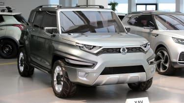 Ssangyong为Chunky XAV SUV提供绿灯