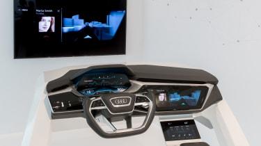 奥迪虚拟仪表板预览2017 A8室内设计