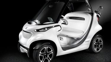 梅赛德斯风格版Garia高尔夫球推车为课程带来奢侈品