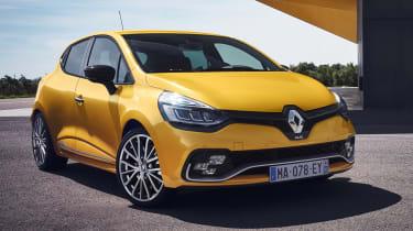 新的2016 Renault Clio Renaultsport Hot Hatch准备发射