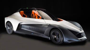 日产Bladeglider概念预览激进电动跑车