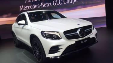 新梅赛德斯GLC轿跑车:价格宣布