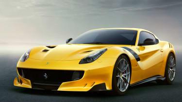 Ferrari F12TDF:F12 Berlinetta Gunkers