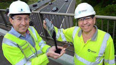 高速公路英格兰试图橡胶道路
